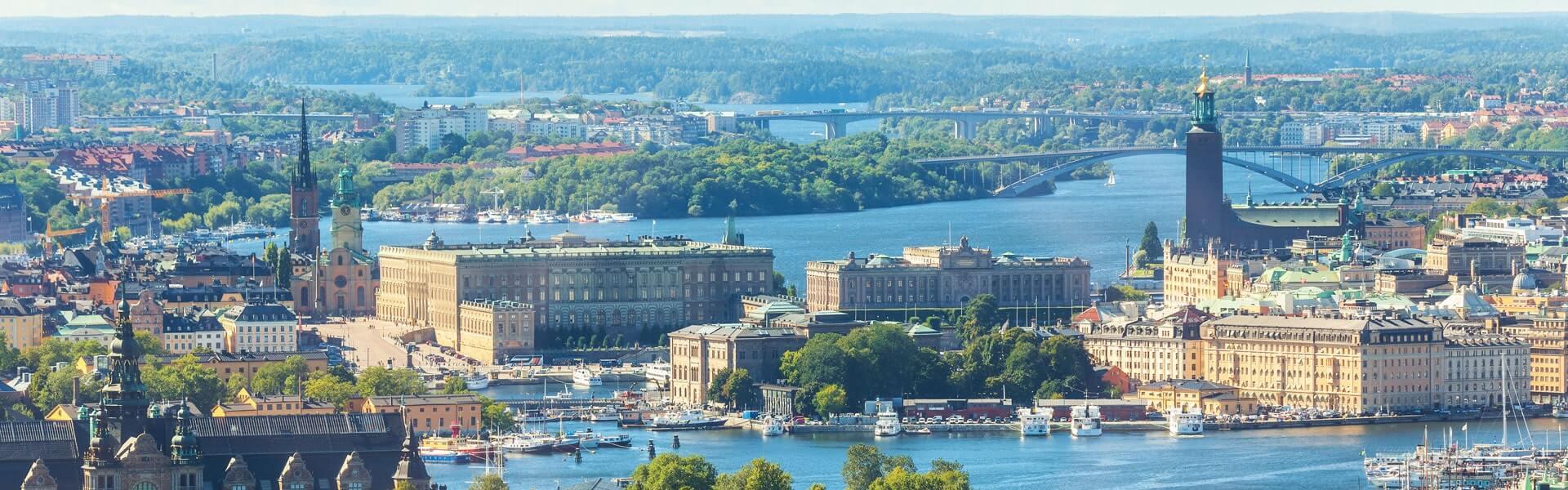 Aussicht auf die Gamla Stan - die Stockholmer Altstadt