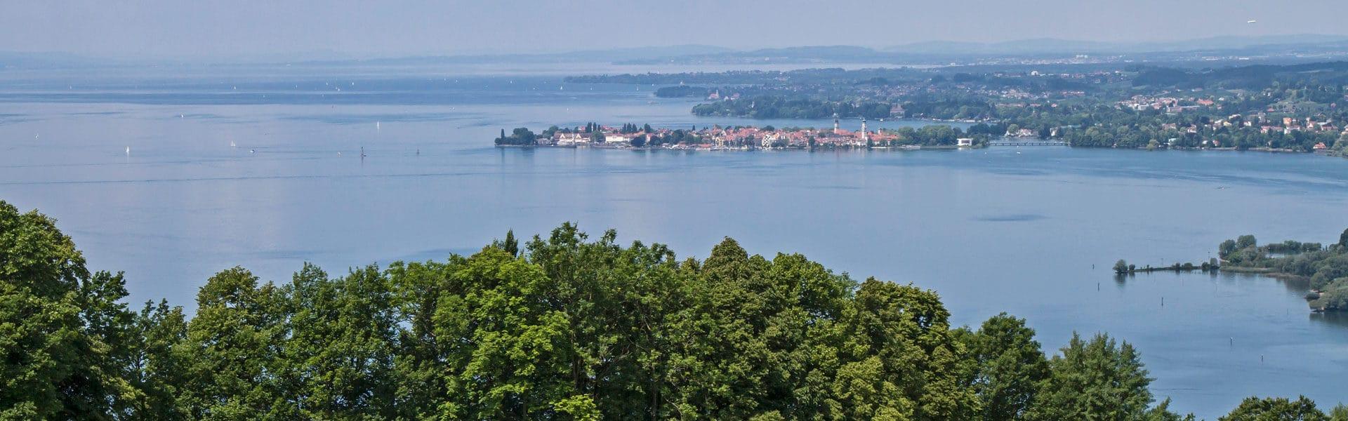 Bodensee Betriebsausflug mit Fahrrad: Von Friedrichshafen nach Lindau, Bregenz, Konstanz