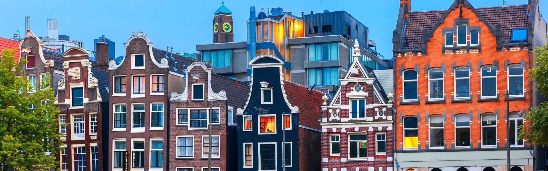 Die Amsterdamer Altstadt bei Ihrer Betriebsfahrt besichtigen