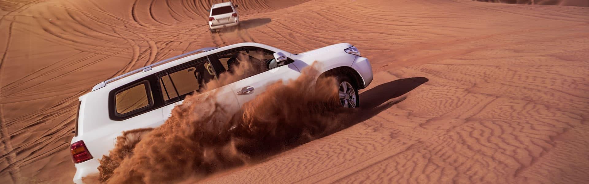 Incentive Reise Dubai mit b-ceed: Wüstenrallyes mit Jeeps, Sundowner und mehr