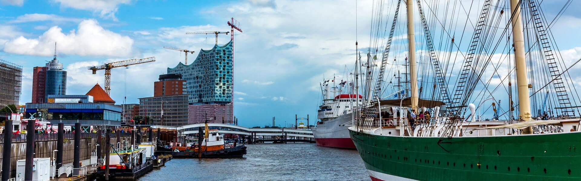 Eine Incentive Reise nach Hamburg - da darf eine Hafenrundfahrt nicht fehlen.
