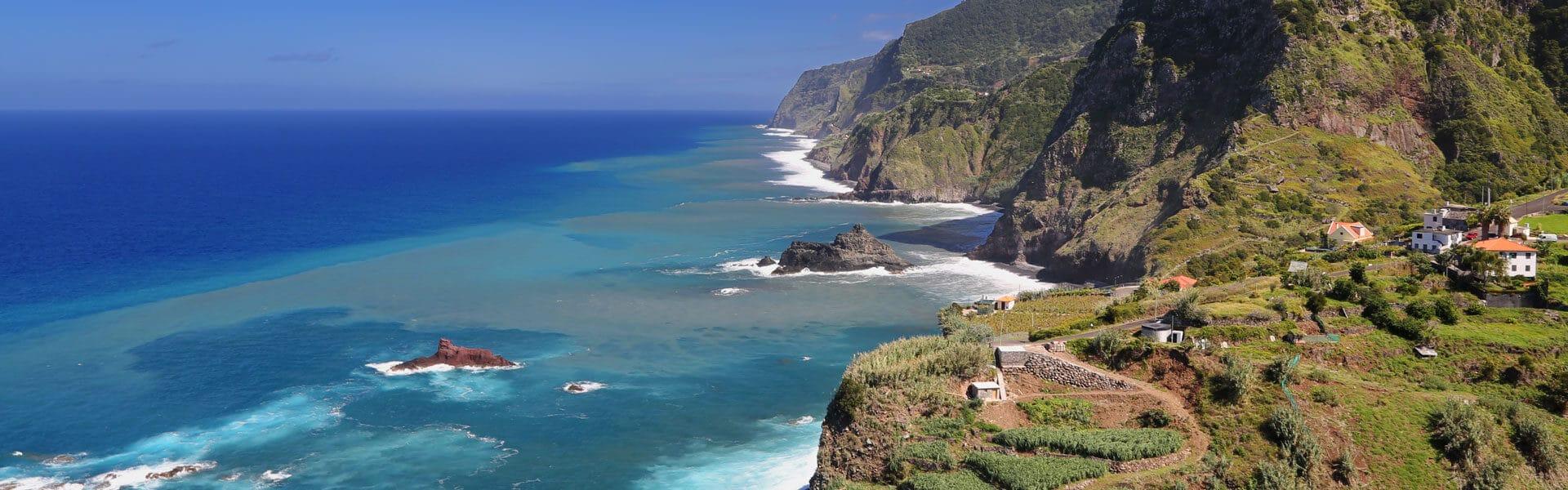Segeln im Atlantik mit Madeira als Ziel