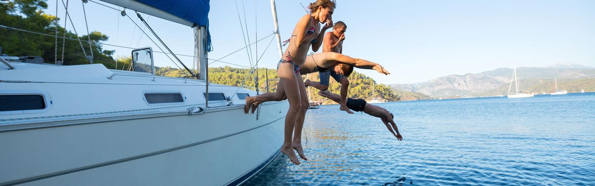 Segeln im Mittelmeer mit der Firma als Incentive Reise