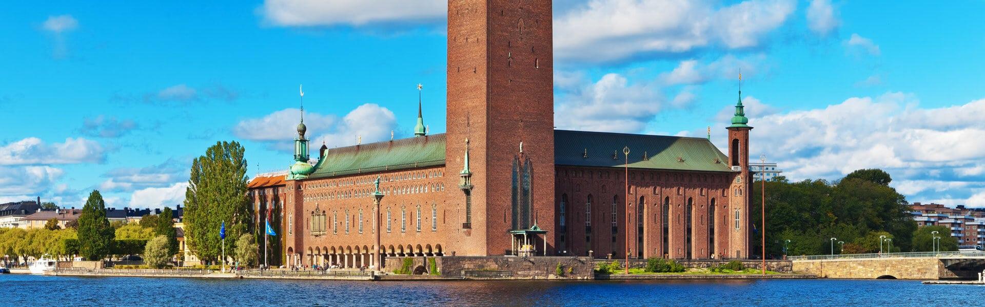 Rathaus und Wahrzeichen der Hauptstadt Schwedens - Das Stockholmer Rathaus in Gamla Stan mit b-ceed Incentive Reisen entdecken