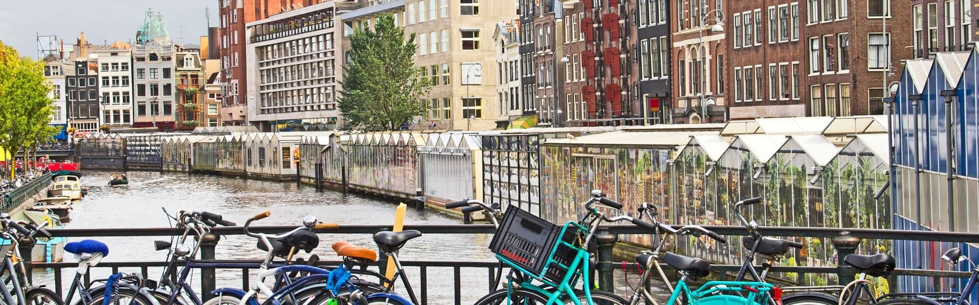 Städtetrip Betriebsausflug nach Amsterdam mit b-ceed - Fahrradtour durch Amsterdam