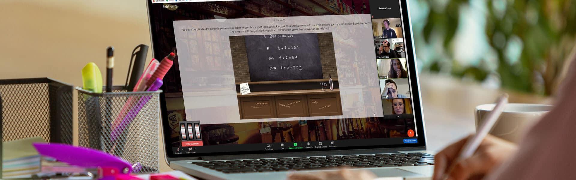 Remote Escape Game als Teamevent von b-ceed eventagentur