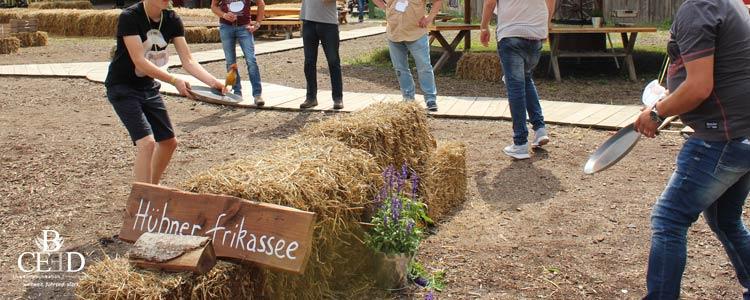 Team Events auf einem der drei schönsten Bauernhof Locations in NRW für Gruppen