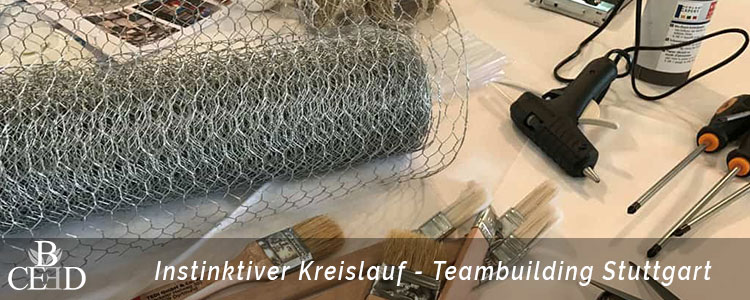 Teambuilding Stuttgart: Bau einer Kettenreaktion als strategisches Teamevent von b-ceed