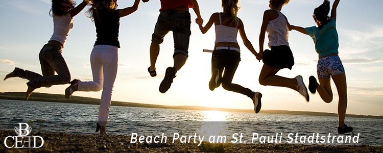 Betriebsausflug Hamburg: Beach Party am Elbstrand von St. Pauli – b-ceed: events