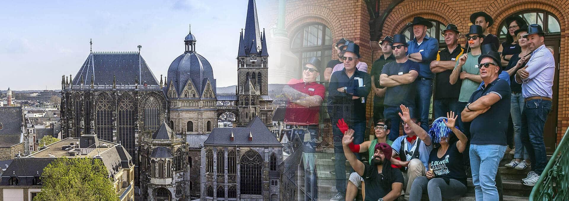 Betriebsausflug Aachen - die besten Events von b-ceed