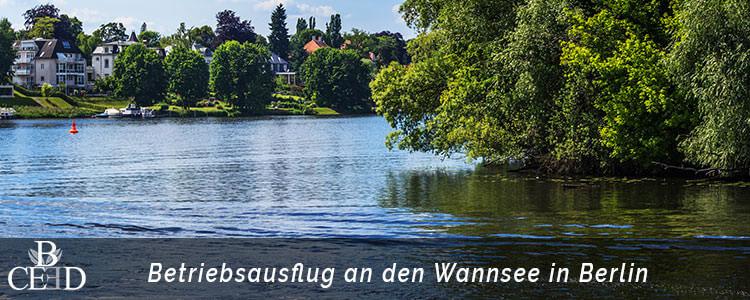 Betriebsausflug Berlin - Wannsee und Beach Party mit Grillen und Chillen - b-ceed: events