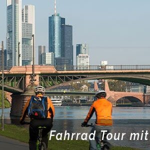 Interaktive Fahrradschnitzeljagd beim Betriebsausflug Frankfurt am Main von b-ceed: events