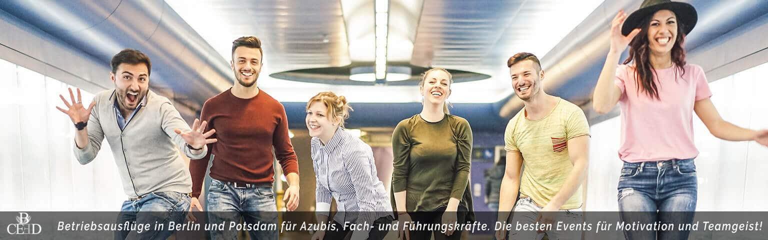 Betriebsausflüge in Berlin für mehr Motivation - b-ceed: events