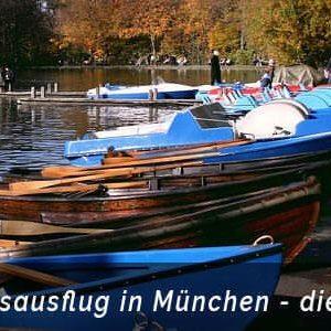 Betriebsausflug in München planen - Rudern am See und an der Isar - b-ceed: events