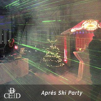 Mobile Aprés Ski Party zur Weihnachtsfeier Nürnberg jetzt bei b-ceed buchen
