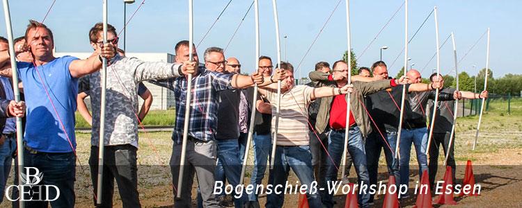Bogenschiessen als Teambuilding Workshop in Essen mit b-ceed