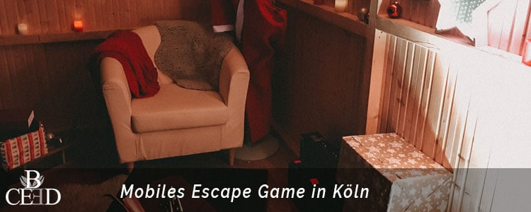 Mobiles Escape Game als Betriebsausflug oder Weihnachtsfeier in Koeln bei b-ceed buchen.