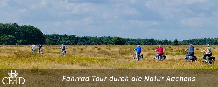 Betriebsausflug in Aachen: aktive Fahrrad Tour durch die Natur mit der Eventagentur Aachen b-ceed