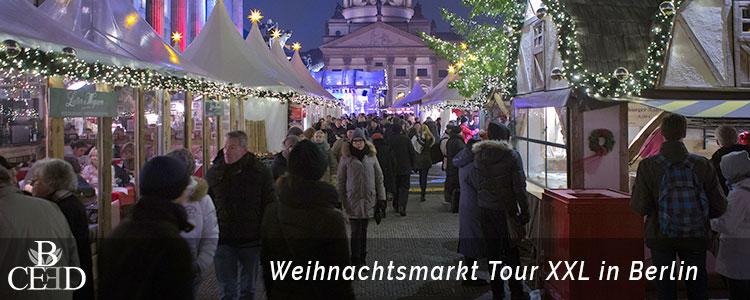 Firmen Weihnachtsfeier Berlin mit XXL Weihnachtsmarkttour von b-ceed