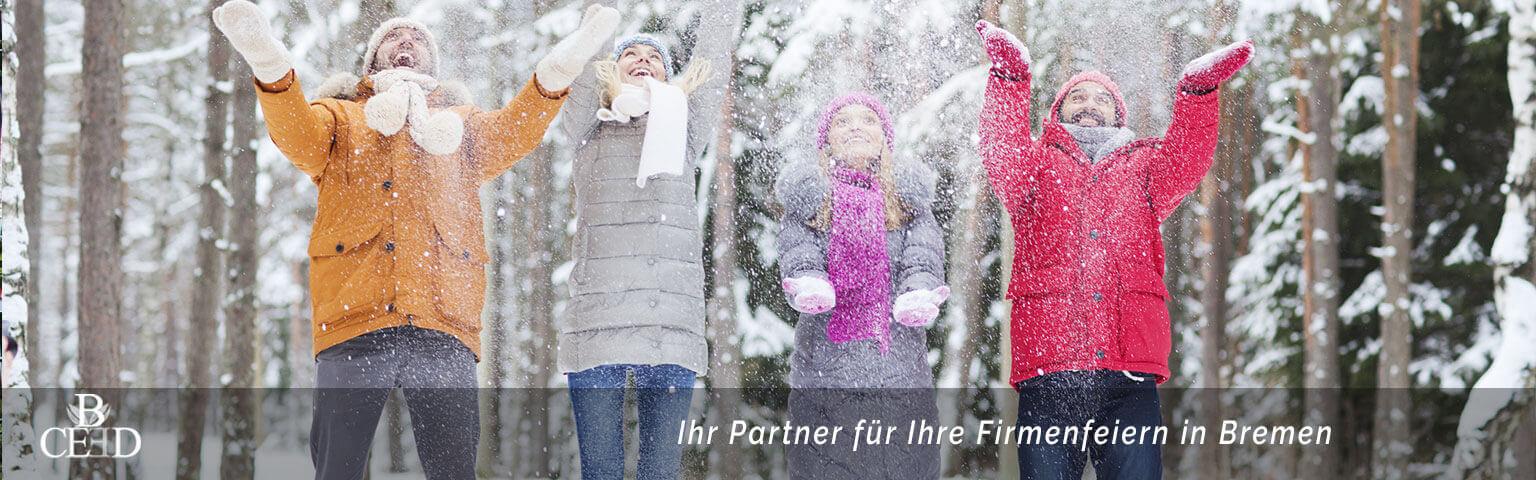 b-ceed ist Ihr Partner für die Weihnachtsfeier in Bremen mit den besten Firmenweihnachtsfeiern.