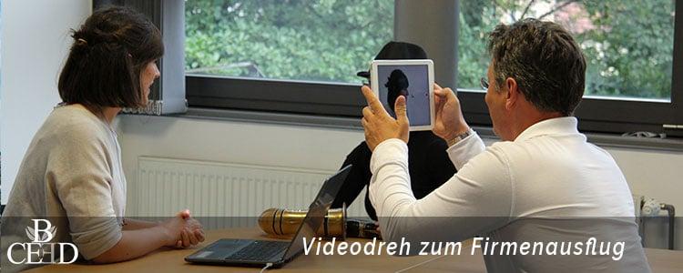 Betriebsausflug Frankfurt am Main- kreativer Videodreh mit b-ceed