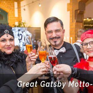 Great Gatsby Mottoparty - die Weihnachtsfeier in Bonn von der Eventagentur b-ceed