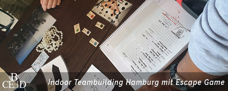 Teambuilding Hamburg: mobile Indoor Escape Room in Hamburg von b-ceed