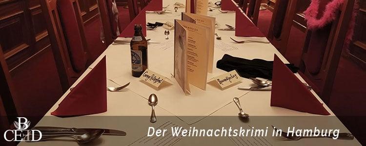Ein Krimi Rollenspiel zur Weihnachtsfeier Hamburg