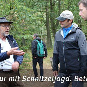 Ranger Tour mit Schnitzeljagd als Betriebsausflug Bonn mit b-ceed