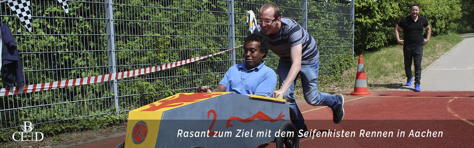 Teambuilding Aachen: Seifenkisten Rennen mit dem Team – b-ceed: eventagentur