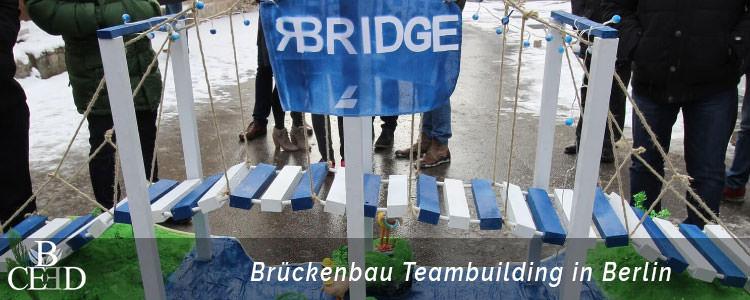 Teambuilding Berlin - Brückenbau Teamevents und Seminare mit Eventagentur b-ceed