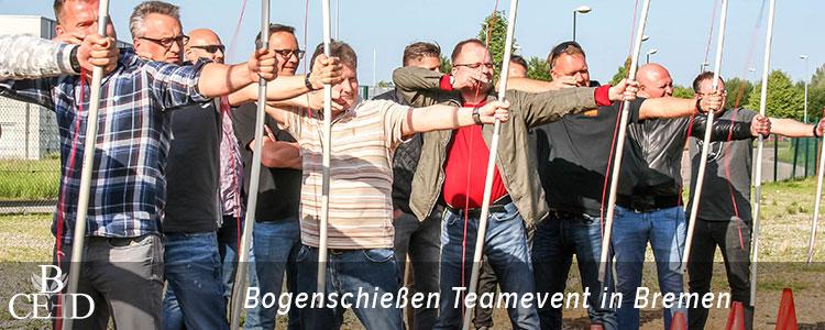 Teambuilding Bremen : Bogenschiessen mit dem Team in Bremen – b-ceed: eventagentur