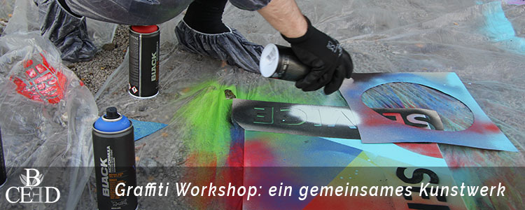 Teambuilding Bremen: Kreativer Graffiti Workshop für mehr Zusammenhalt im Team