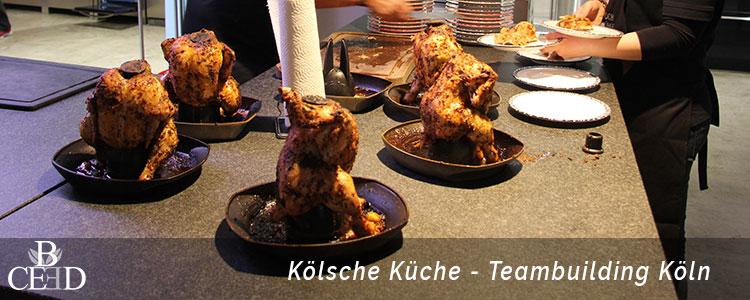 Kulinarisches Teambuilding Event in Koeln mit einem Food Workshop von b-ceed
