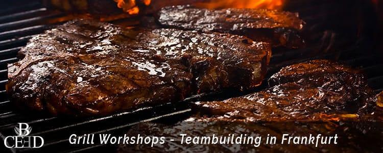 Grillkurs Teambuilding in Frankfurt am Main mit Eventagentur b-ceed buchen