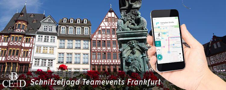 Teambuilding Frankfurt am Main - Outdoor Teamevents und Schnitzeljagd. b-ceed Events