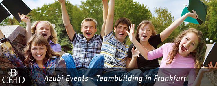 Teambuilding Frankfurt für Azubis und Teams - Outdoor und Indoor mit Agentur b-ceed