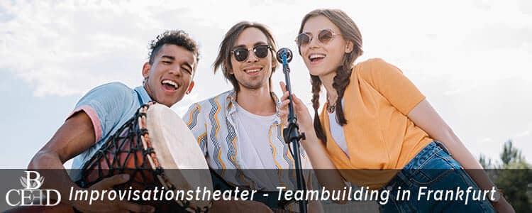 Teambuilding in Frankfurt am Main: Improvisationstheater mit Coaching Modul. b-ceed: events