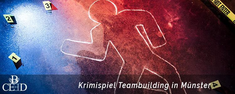 Teambuilding Muenster mit spannenden Krimispiel Events und Escape Games buchen - b-ceed: events