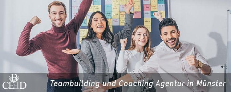 Teambuilding und Coaching Teambuilding Agentur b-ceed in Muenster