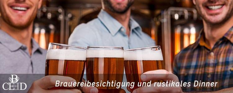 Brauereibesichtigung und rustikales Weihnachtsmenü zur Weihnachtsfeier in Bremen - b-ceed: events