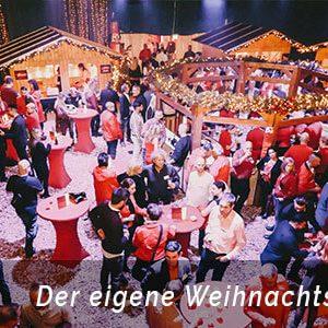Weihnachtsfeier Essen mit einem mobilen Weihnachtsmarkt von b-ceed planen