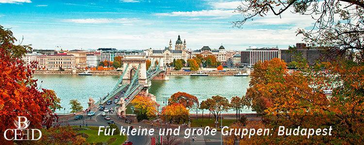 Beliebte Firmenreisen fuer kleine und grosse Gruppen sind nach Budapest, Prag oder auch Amsterdam mit b-ceed travel