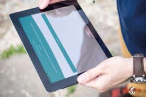 Semi-virtuelle Schnitzeljagd mit App: b-ceed remote teamevents