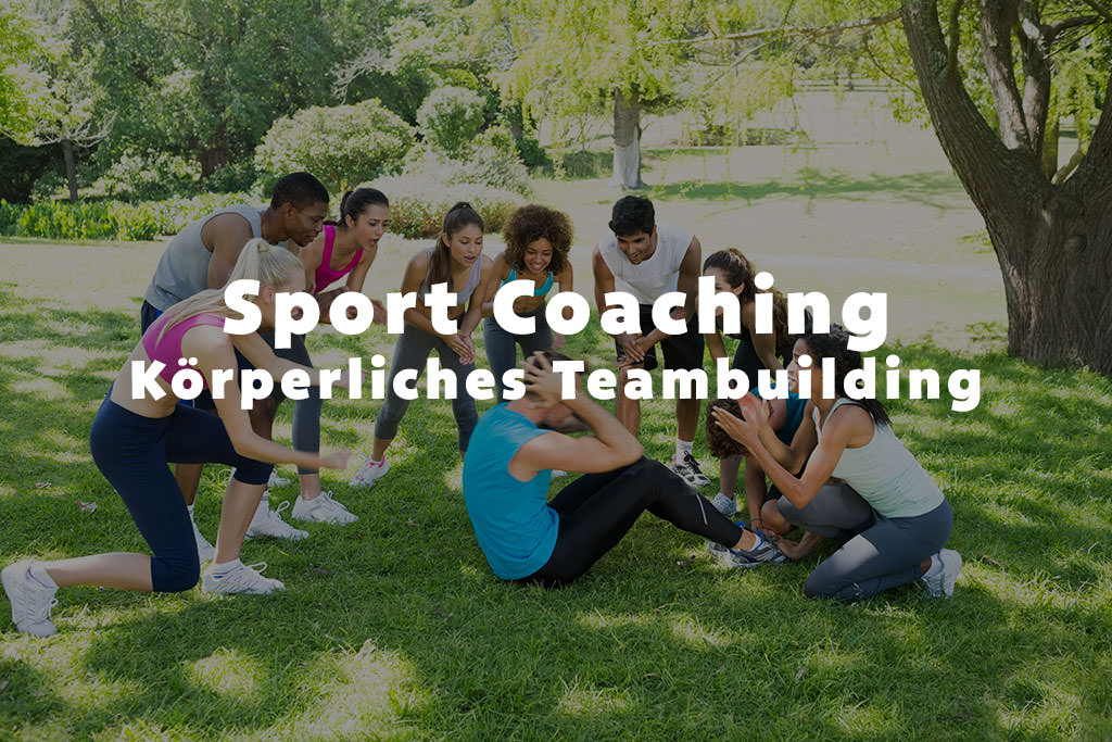 Sport Coaching das körperliche Teambuilding b-ceed: events!