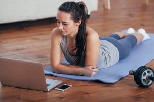 Sport Home Office Workout als Teamevent von b-ceed