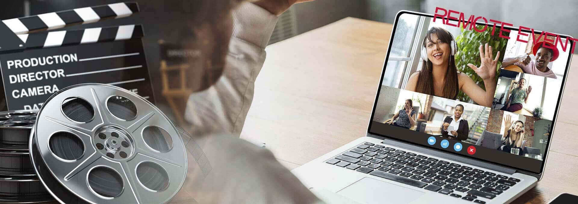 Virtueller Filmdreh als Remote Teamevent mit b-ceed