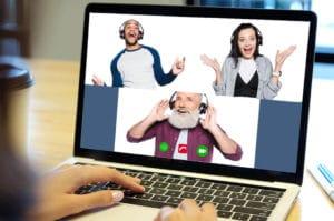 virtuelles improvisationstheater als remote teamevent: b-ceed eventagentur