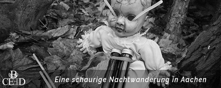 Weihnachtsfeier Aachen: Grusel Nachtwanderung durch die Wälder Aachens – b-ceed: eventagentur