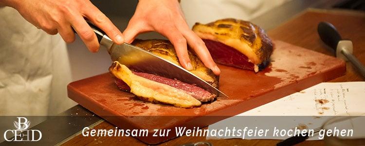Weihnachtsfeier Aachen: Küchenparty oder Kochkurs in Aachen – b-ceed: eventagentur